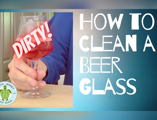How to Clean a Beer Glass