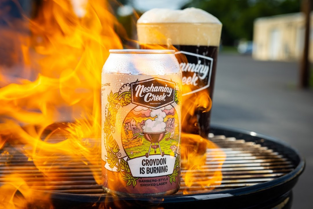 Neshaminy Creek Brewing Co. - Croydon is Burnin