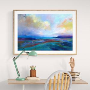 featured photo showing framed fine art prints available from SJB Fine Art