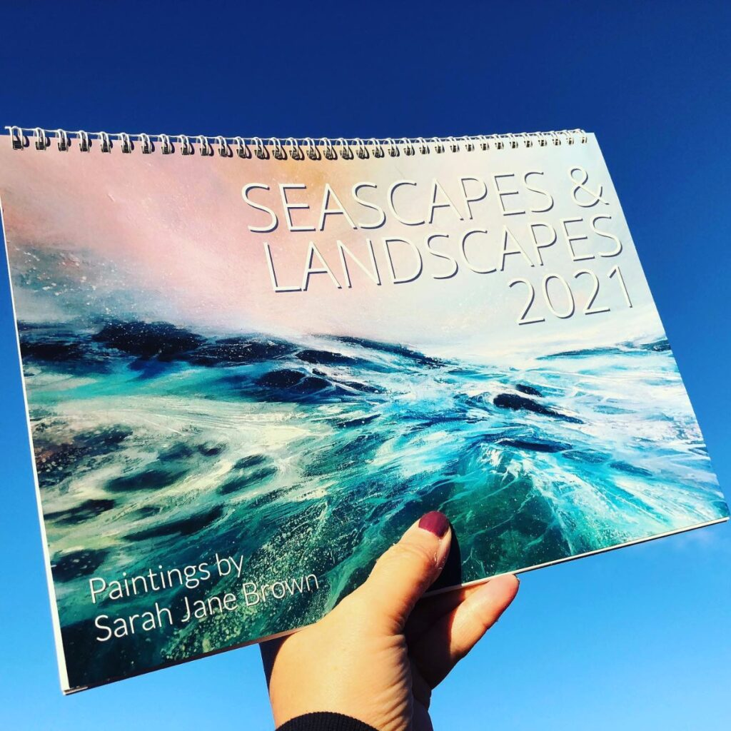 Seascapes & Landscapes 2021 Calendar now available