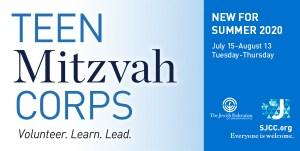 Teen Mitzvah Corps: Learn. Volunteer. Lead.