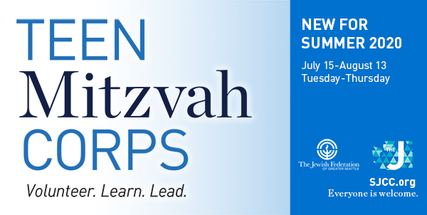 Teen Mitzvah Corps: Learn. Volunteer. Lead.