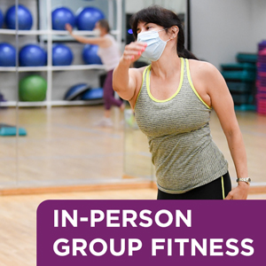 In-person group fitness