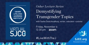 Osher at the J: Demystifying Transgender Topics