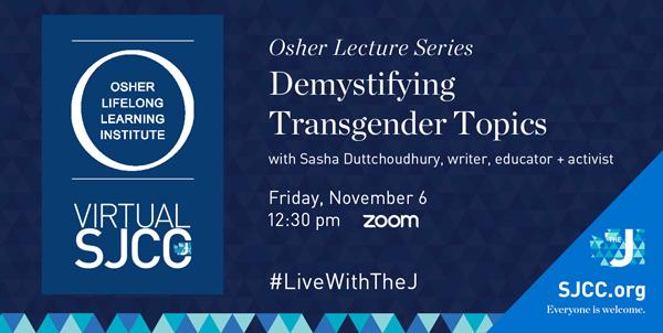 Osher at the J: Demystifying Transgender Topics