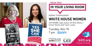 Book Fest in your Living Room: White House Women Then + Now