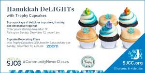 Hanukkah DeLIGHTs with Trophy Cupcakes