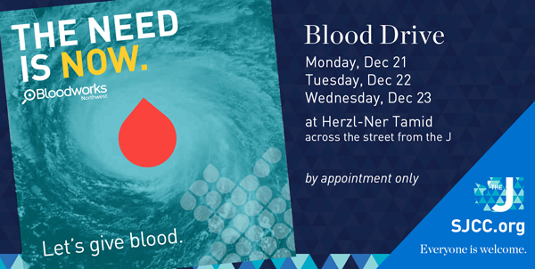 Pop-Up Donor Center @ Herzl-Ner Tamid