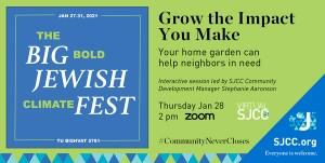 Big Bold Jewish Climate Fest: Jan 27-30