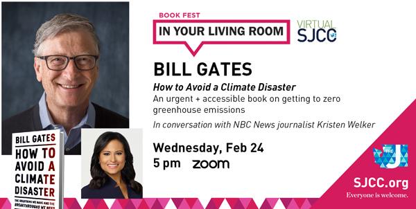 Book Fest: Bill Gates - Feb 24