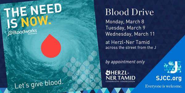 Blood Drive March 8-10