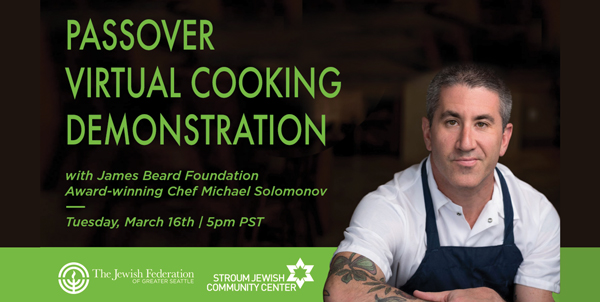 Virtual Passover Cooking with Michael Solomonov