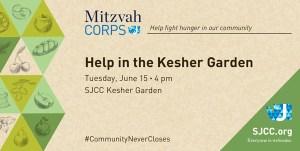 Mitzvah Corps: Help in the Garden