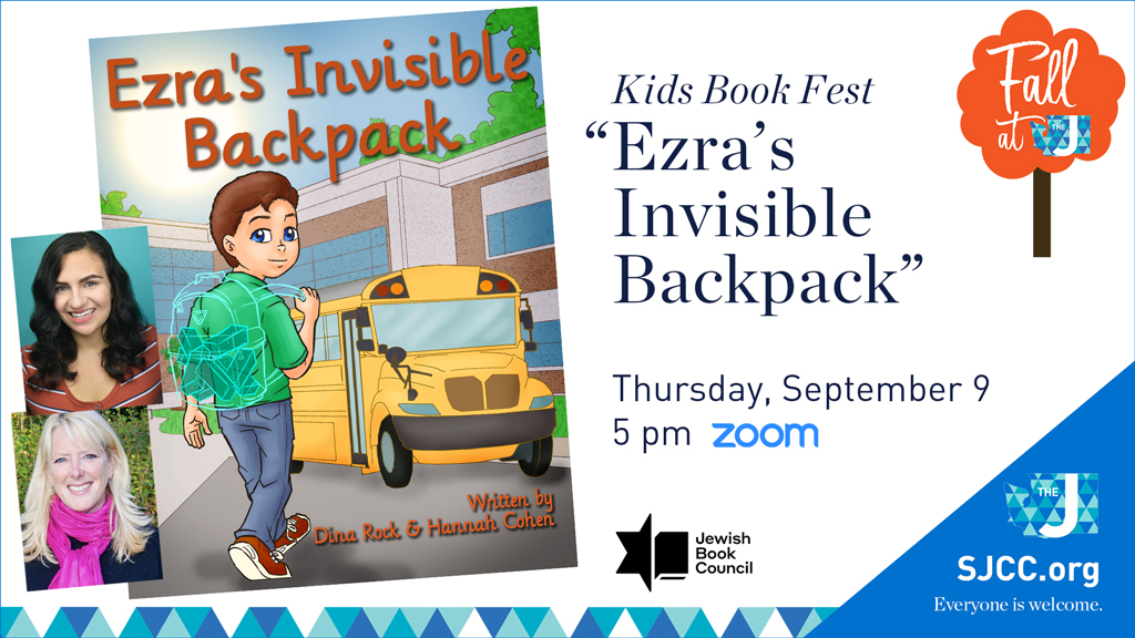 """Kids Virtual Book Fest: """"Ezra's Invisible Backpack"""""""