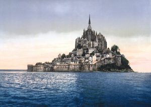 Direction le Mont Saint Michel