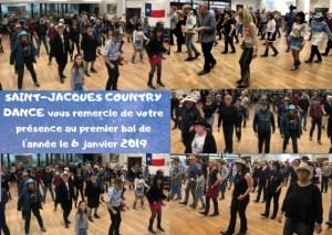 SAINT-JACQUES COUNTRY DANCE VOUS REMERCIE DE VOTRE PRÉSENCE AU 1ER BAL DE L'ANNÉE ET VOUS DONNE RDV LES 27 ET 28 AVRIL 2019 POUR LES 10 ANS DE L'ASSOCIATION…