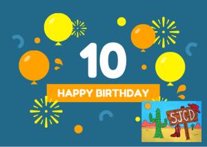 Nous vous attendons pour fêter ensemble les 10 ans de SAINT-JACQUES COUNTRY DANCE