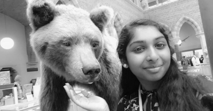 Priyanka Balamurali selfie