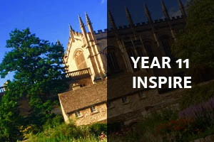 Year 11 Inspire: Click here to find out about the Inspire Programme for Year 11