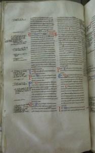 13th c. legal manuscript Justinian, Digest (MS 24)