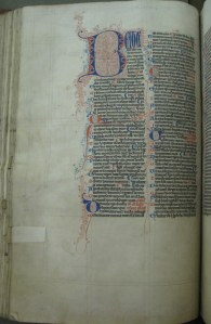 13th c. Bible (MS 29)
