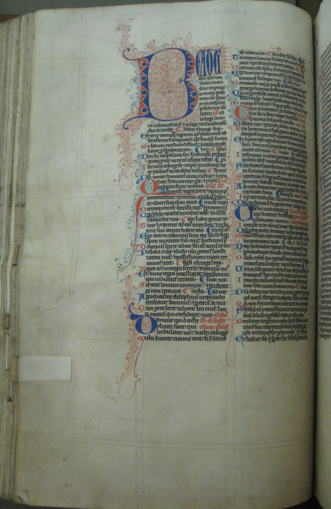 13th c. Bible (MS 29)