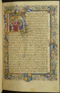 St John's late 15th-century Statutes of England