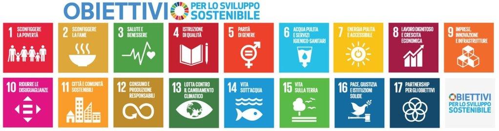 17 obiettivi AGENDA ONU 2030
