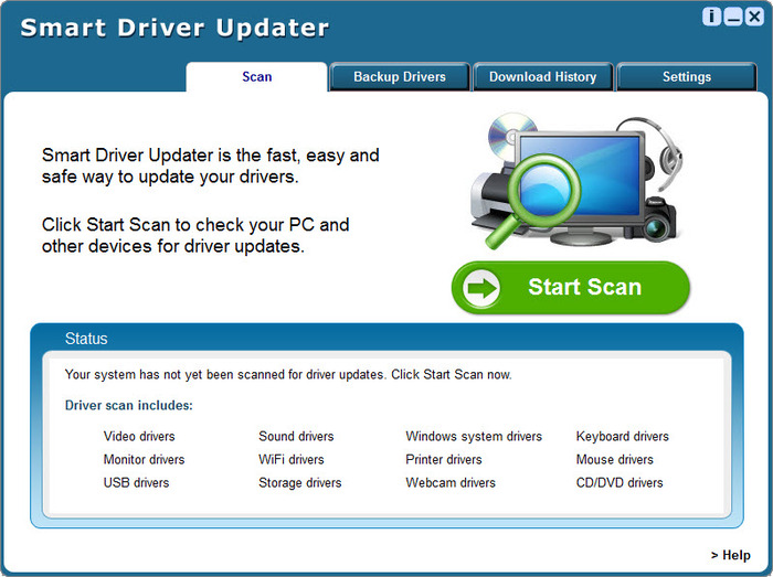 Smart Driver Updater 5.2.448 Crack + Keygen Full