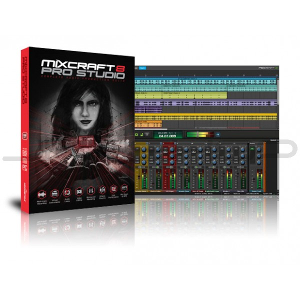 Acoustica Mixcraft 8.1 Crack + Registration Code Free Download