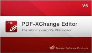 PDF-XChange Editor PRO 6 Crack & Portable Free Download
