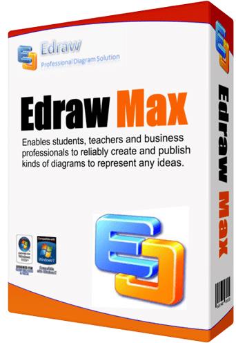 Edraw Max Pro 9 Crack + License key Free Download [Latest]