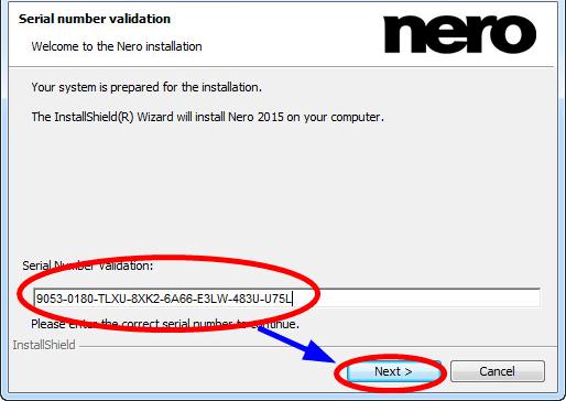 nero burning rom 2018 serial key free download