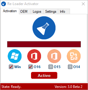Re-Loader 3.0 Beta 3 : Windows 10 & Office 2016 Activator