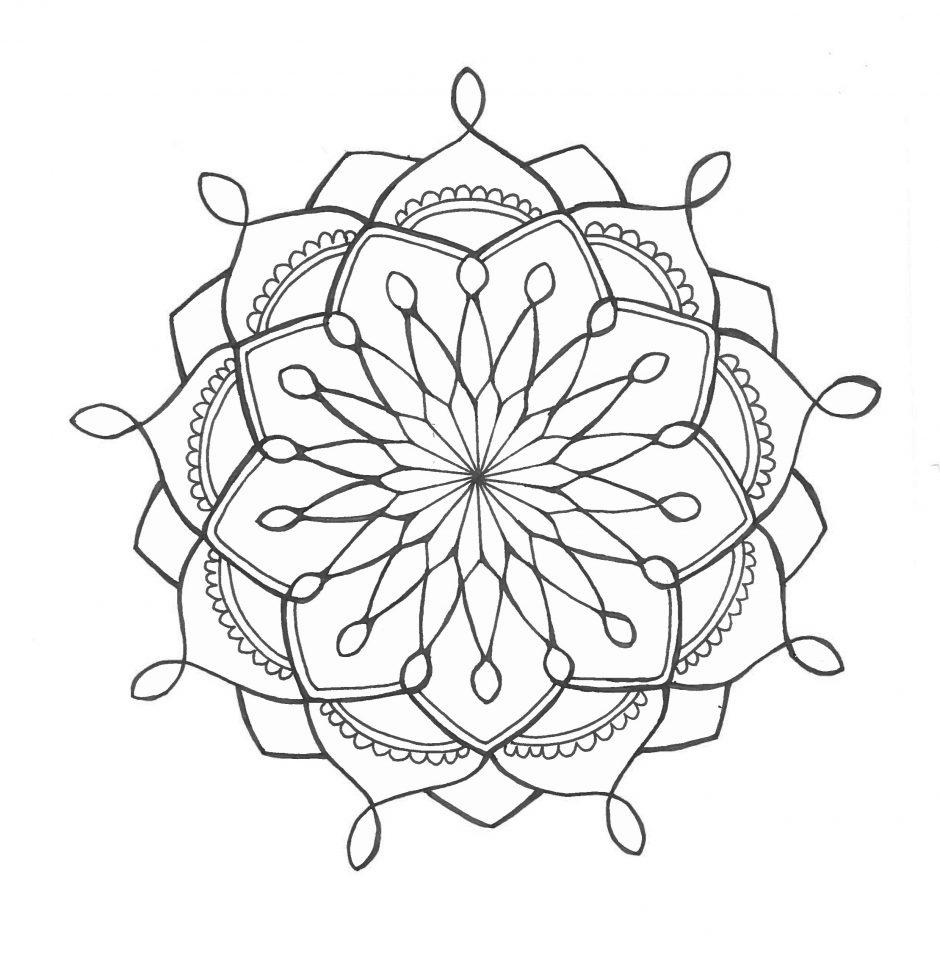 Mandala Art Tutorial Step Beginner Doodles Www Galleryneed Com