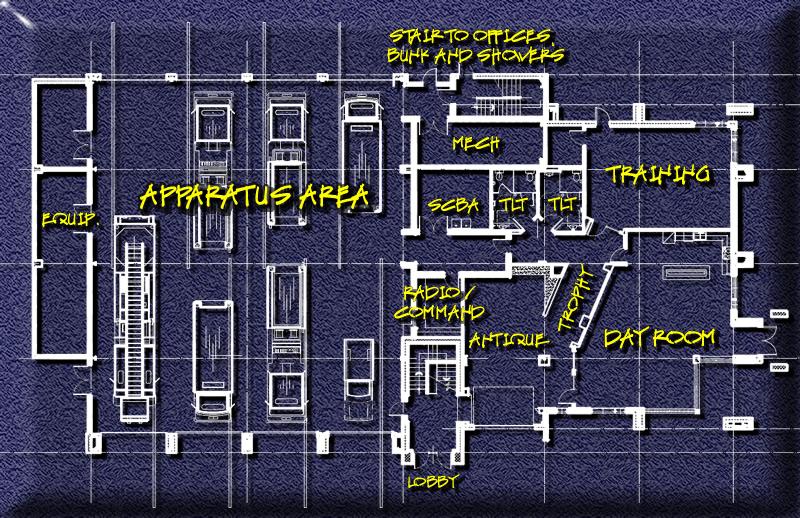 Hecktown Fire Company Floor Plan