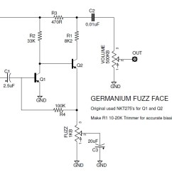 Fuzz Face Wiring Diagram Doctor Tweek V2 Double Outlet The Faces Of A Brief History Ge Fuzzface