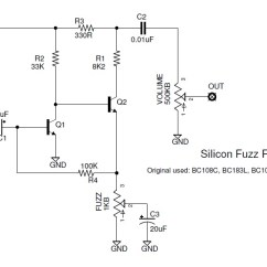 Fuzz Face Wiring Diagram Doctor Tweek V2 Simple Auto Electrical The Faces Of A Brief History Si Fuzzface If You Fancy Building Your Own Our Good Friend Also Sells