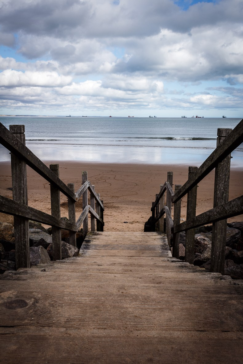 Footdee-Stairs-Aberdeen-Beach