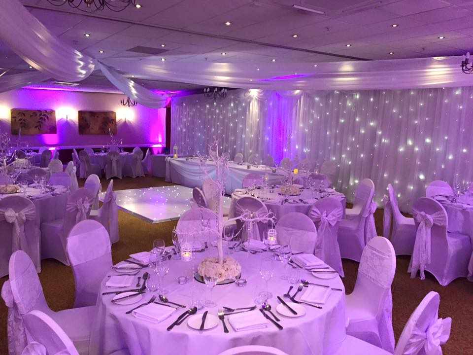 preston marriott hotel wedding dressing