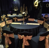 black chair covers to hire steel tube frame and sashes sj enterprises make