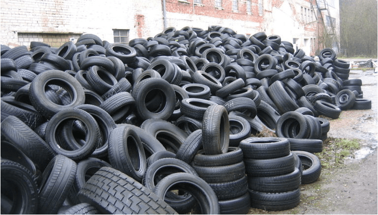 Import of Old & Used Tyres with One or Two Cuts in India