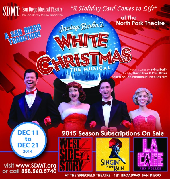 San Diego Musical Theatre's Irving Berlin's White Christmas