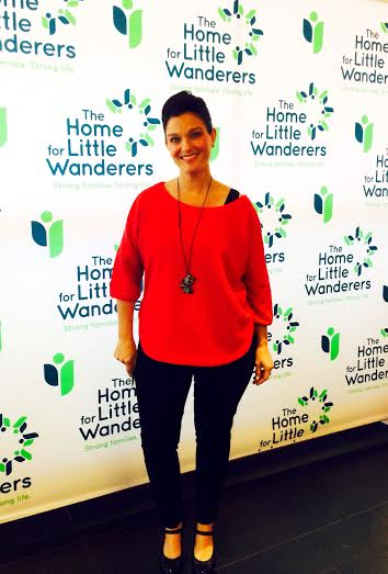 "Erica McDermott at ""Home for the Little Wanderers"" Event"