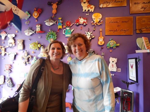 Susan Farese with Alyssa Goodman