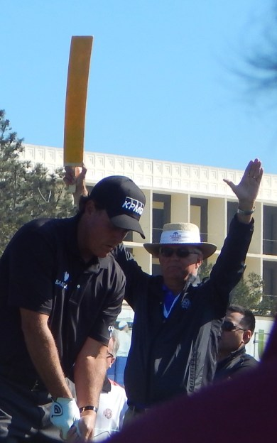 Farmers Open: Phil Mickelson;  Photo by Susan Farese, SJF Communications