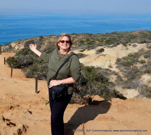 Susan at Torrey Pines State Reserve