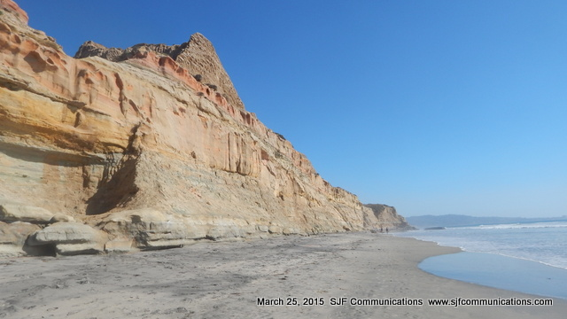 Rock Formation at Torrey Pines State Beach
