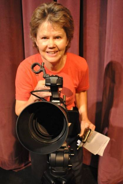 """Executive Producer/Director  of Team XX film """"Down Stage""""- Sue Vicory"""