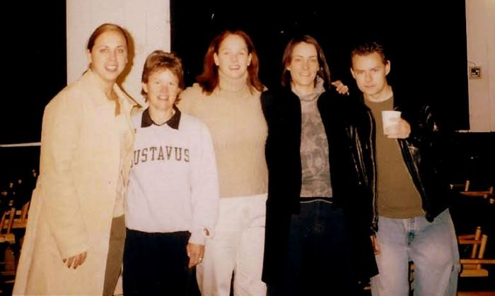 Sue Vicory with fellow students at New York Film Academy